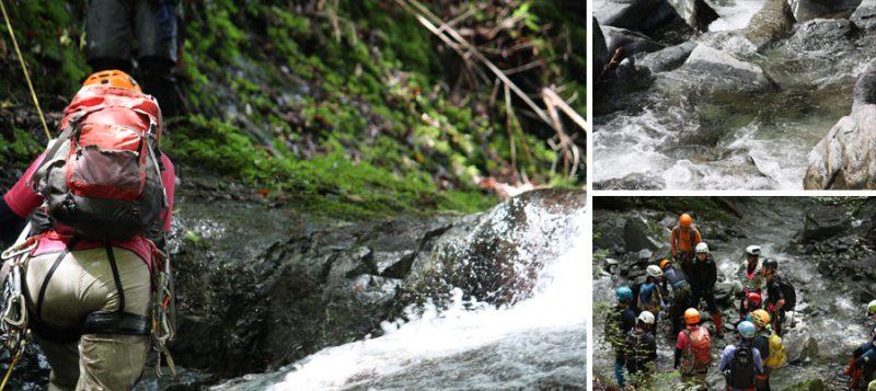 【9月24日(日曜日)開催】キャラバン沢登り体験会 西丹沢 玄倉川支流小川谷でのアクティブ・クライミングスタイルを楽しむ!