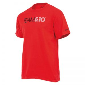 Team 5.10 Tee _Red